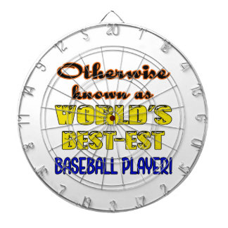 Otherwise known as world's bestest Baseball player Dart Board
