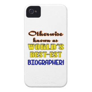 Otherwise known as world's bestest Biographer iPhone 4 Case-Mate Case