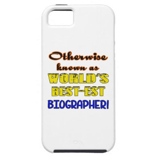 Otherwise known as world's bestest Biographer iPhone SE/5/5s Case