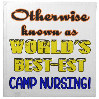 Otherwise known as world's bestest Camp nursing Cloth Napkin