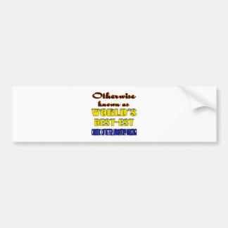 Otherwise known as world's bestest Cardiac cathete Bumper Sticker