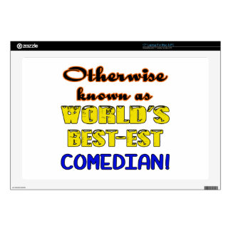 Otherwise known as world's bestest Comedian Laptop Decals