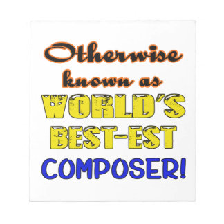 Otherwise known as world's bestest Composer Notepad