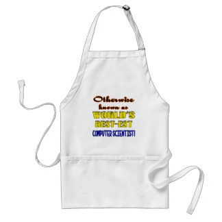 Otherwise known as world's bestest Computer scient Adult Apron