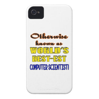 Otherwise known as world's bestest Computer scient iPhone 4 Case-Mate Case