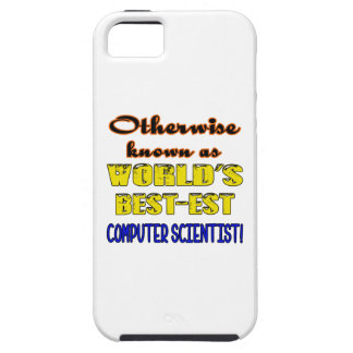 Otherwise known as world's bestest Computer scient iPhone SE/5/5s Case