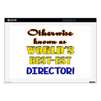 Otherwise known as world's bestest Director Laptop Decal