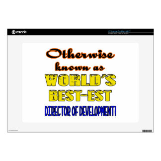 Otherwise known as world's bestest Director of dev Decal For Laptop