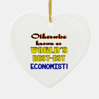 Otherwise known as world's bestest Economist Ceramic Ornament