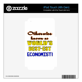 Otherwise known as world's bestest Economist iPod Touch 4G Skin