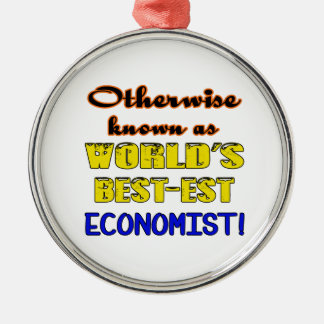 Otherwise known as world's bestest Economist Metal Ornament