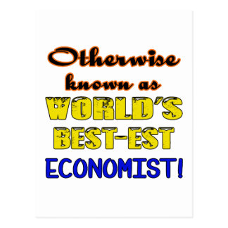 Otherwise known as world's bestest Economist Postcard
