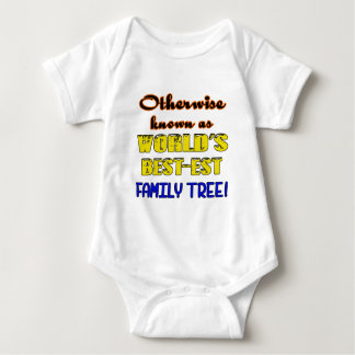 Otherwise known as world's bestest family tree baby bodysuit