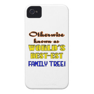 Otherwise known as world's bestest family tree Case-Mate iPhone 4 case
