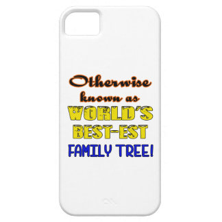 Otherwise known as world's bestest family tree iPhone SE/5/5s case
