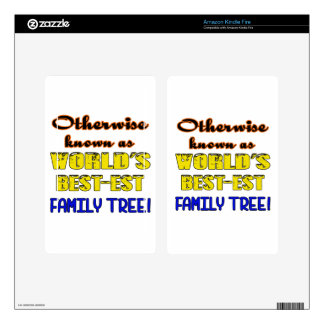 Otherwise known as world's bestest family tree kindle fire decal