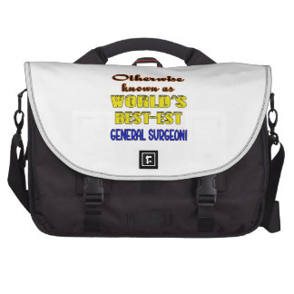 Otherwise known as world's bestest General Surgeon Computer Bag