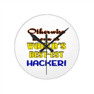 Otherwise known as world's bestest Hacker Round Clock