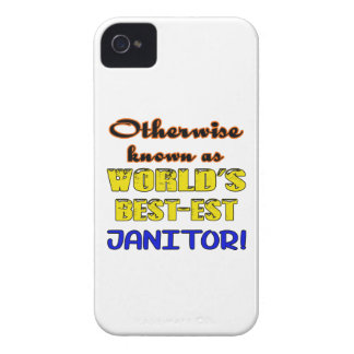 Otherwise known as world's bestest janitor iPhone 4 cover
