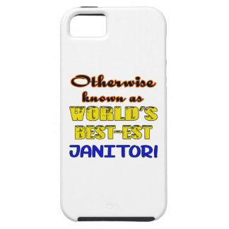 Otherwise known as world's bestest janitor iPhone SE/5/5s case