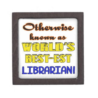 Otherwise known as world's bestest Librarian Jewelry Box