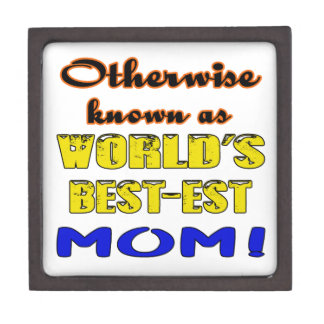 Otherwise known as world's bestest Mom Jewelry Box