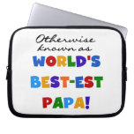 Otherwise Known Best-est Papa Tshirts and Gifts Laptop Sleeve