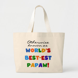Otherwise Known Best-est Papaw T-shirts and Gifts Jumbo Tote Bag