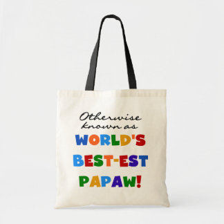 Otherwise Known Best-est Papaw T-shirts and Gifts Budget Tote Bag