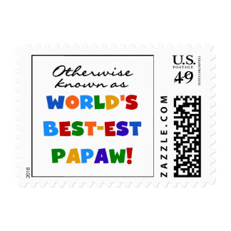 Otherwise Known Best-est Papaw T-shirts and Gifts Postage Stamp
