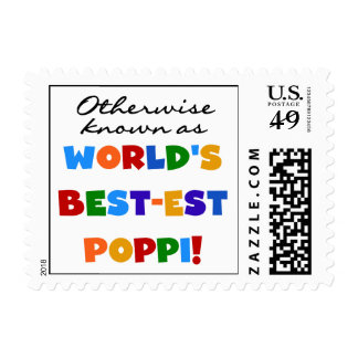 Otherwise Known Best-est Poppi T-shirts and Gifts Stamps