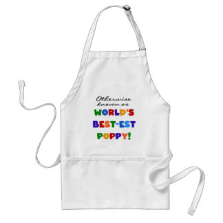 Otherwise Known Best-est Poppy Tshirts and Gifts Adult Apron