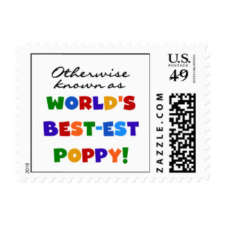 Otherwise Known Best-est Poppy Tshirts and Gifts Postage Stamp