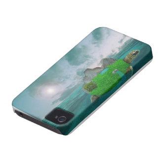 Otherworldly Giant Turtle Iphone 4 Case