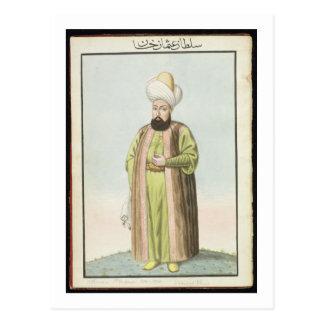 Othman (Osman) I (1259-1326), founder of the Ottom Postcard