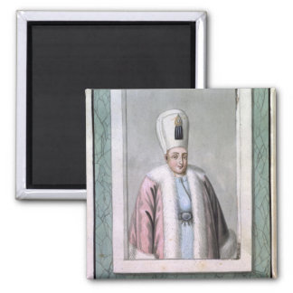 Othman (Osman) II (1603-22) Sultan 1618-22, from ' 2 Inch Square Magnet