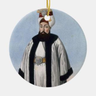 Othman (Osman) III (1699-1757) Sultan 1754-57, fro Ceramic Ornament