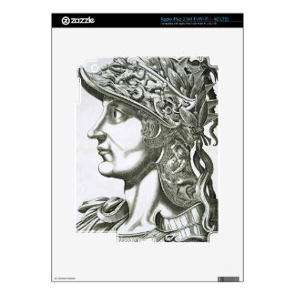 Otho (32-69 AD), 1596 (engraving) iPad 3 Decal