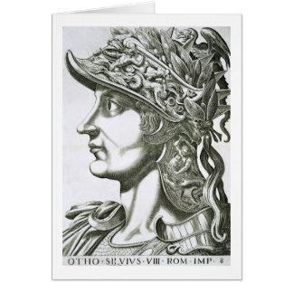 Otho (32-69 ANUNCIO), 1596 (grabado) Tarjeta De Felicitación