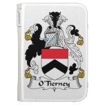 O'Tierney Family Crest Kindle 3 Cases