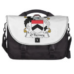 O'Tierney Family Crest Laptop Computer Bag
