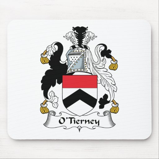 O'Tierney Family Crest Mouse Pad