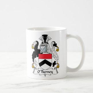 O'Tierney Family Crest Coffee Mug