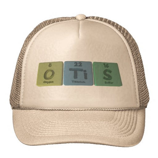 Otis como azufre del titanio del oxígeno gorro de camionero