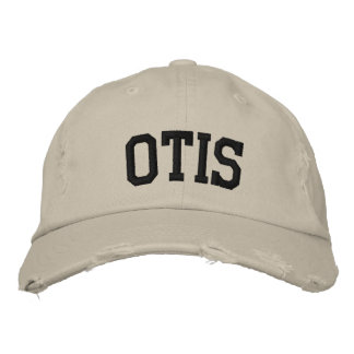 Otis Embroidered Hat Embroidered Baseball Caps