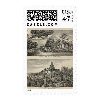 Otis Price Villa, Kansas Postage
