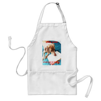 Otis Says: Studying Is Great!! Adult Apron