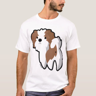 Otis this Shih Tzu Stripe T-Shirt