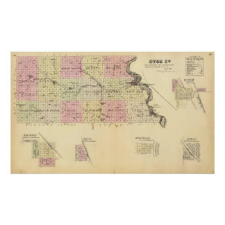 Otoe County, Nebraska Poster