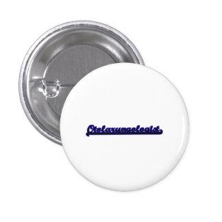 Otolaryngologist Classic Job Design 1 Inch Round Button